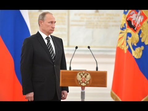 Vladimir Putin. Meeting with officers appointed to senior command positions
