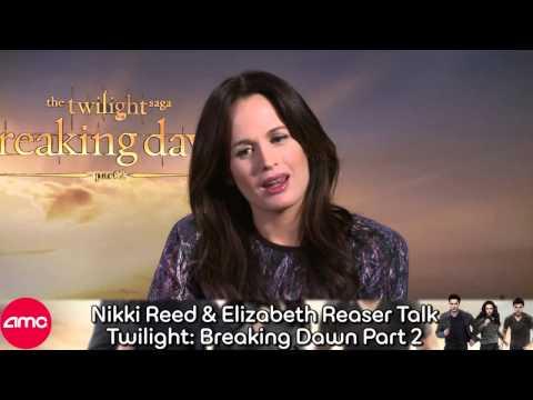 Nikki Reed And Elizabeth Reaser Talk Twilight Breaking Dawn Part 2 (Interview)