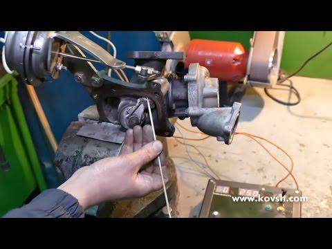 Принцип работы клапана вестгейта на примере турбонаддува двигателя Mercedes OM 651