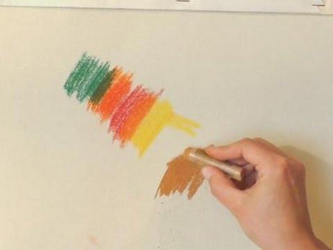 Zeichnen Lernen Fur Anfanger Pastellkreiden Vorgestellt Teil 1 Zeichenmaterial Pastellkreide