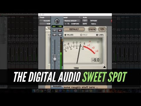 The Digital Audio Sweet Spot – RecordingRevolution.com