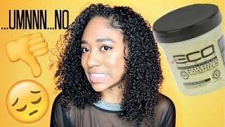 👎Issa No For Me-Black Castor & Flaxseed Oil EcoStyler