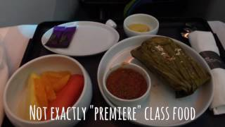 """AeroMexico FIRST CLASS """"Clase Premier"""" Boeing 787-8 Dreamliner MEX-SCL"""