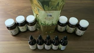 Dr. Morse&#39s Herbal Health Club Haul October 2016 - Capsules, Tinctures, and Tea