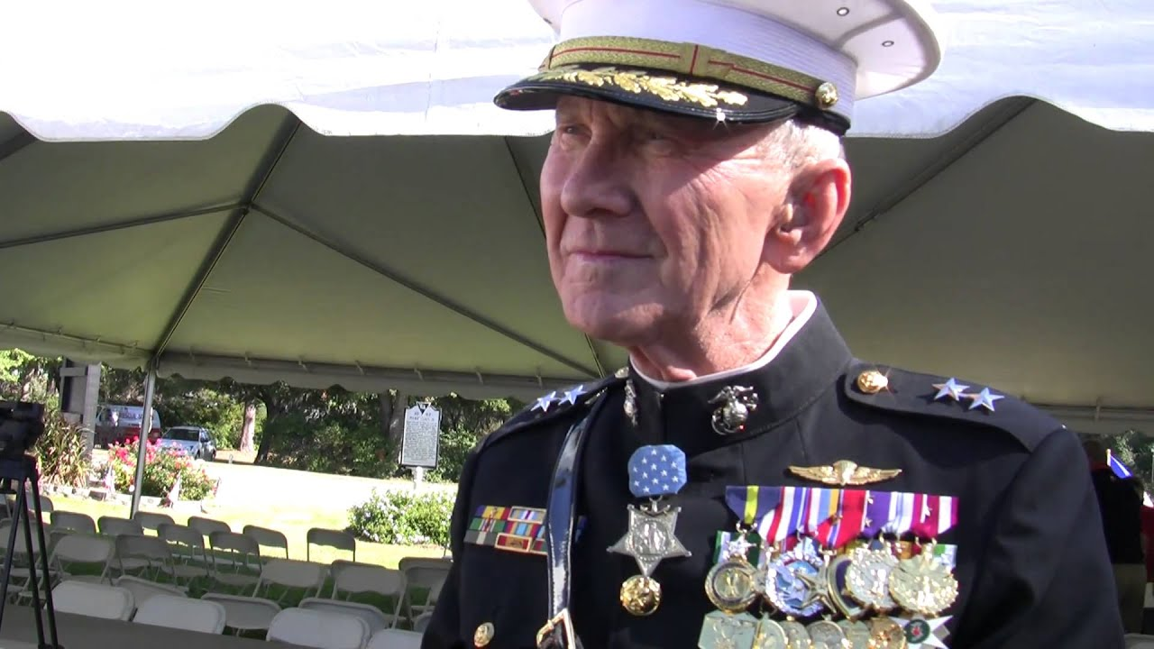 Medal of Honor recipient Major General Livingston on ...