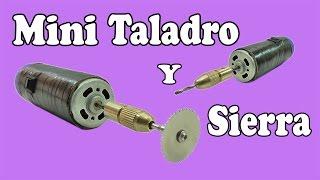 cómo hacer un mini sierra y taladro potente muy fácil de hacer