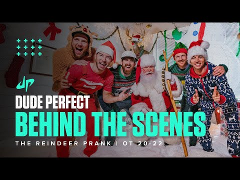 Reindeer Christmas Prank (Behind The Scenes) - Dude Perfect Plus
