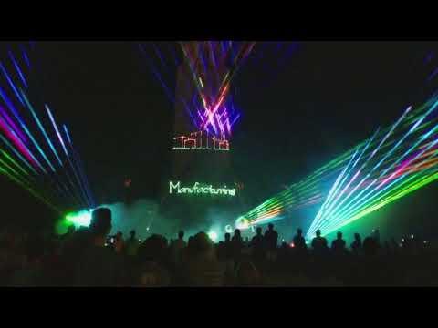 Nebraska's 150th Celebration Laser Show