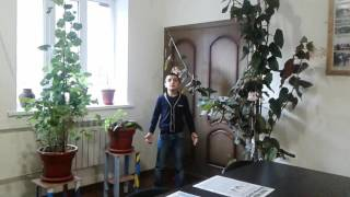 Читаем классику в библиотеке, Шавелед Кузиев, 6 кл , М. Лермонтов Парус,  библиотека в с Рутул, ф-л