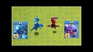 Electro Dragon vs Dragon Clash of Clans