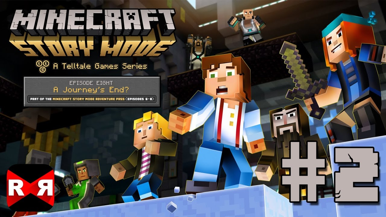 Download Minecraft: Story Mode Ep. 8: A Journey's End - iOS / Android - Walkthrough Gameplay Part 2