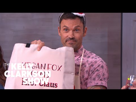Brian Austin Green And Kelly Make Custom Wine Glasses And Tote Bags | The Kelly Clarkson Show