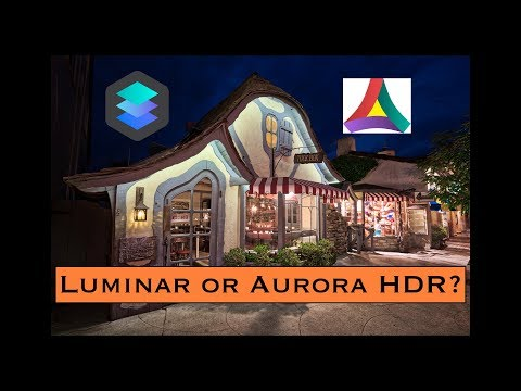 Luminar or Aurora HDR: Which App, When and Why?
