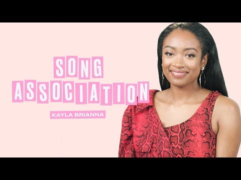 Kayla Brianna Sings Calvin Harris, Michael Bublé, and H.E.R. | Song Association | ELLE