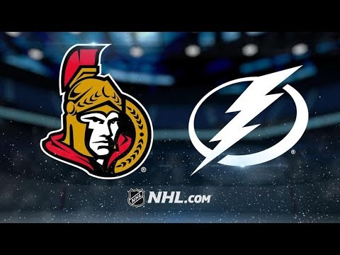 Ottawa Senators vs Tampa Bay Lightning | Nov.10, 2018 | Game Highlights | NHL 2018/19 | Обзор матча