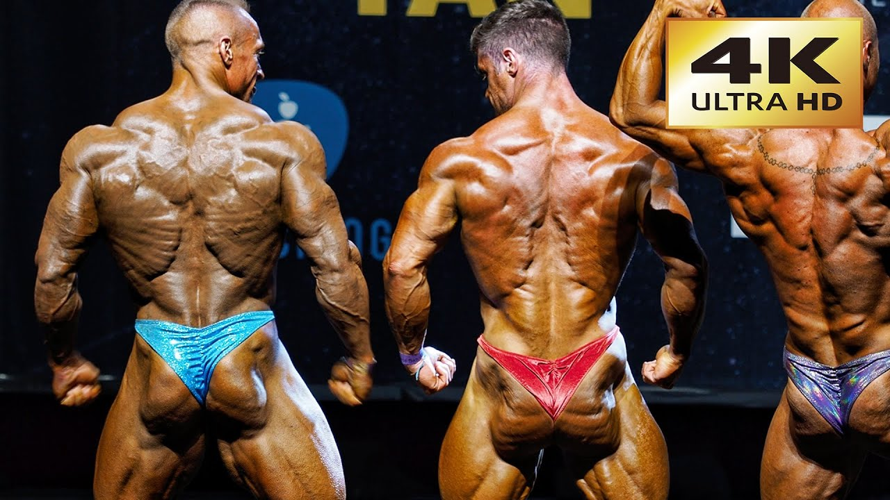 4k Ultra Hd Bodybuilding Competition Top 3 Are Beasts Youtube