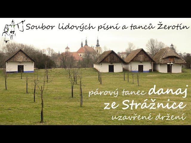 SLPT Žerotín - Párový tanec danaj ze Strážnice - uzavřené držení