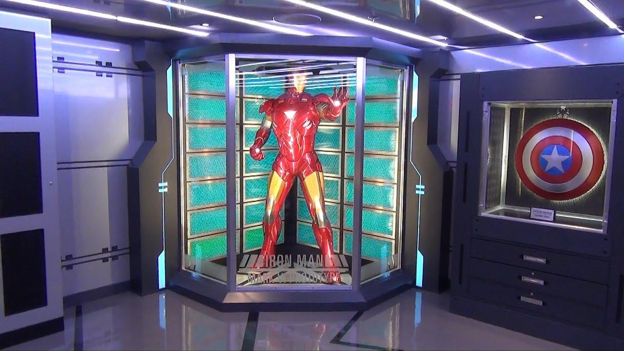 Marvel avengers academy tour on disney magic cruise w for Tour avengers