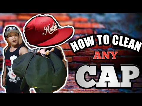 HOW TO CLEAN ANY CAP