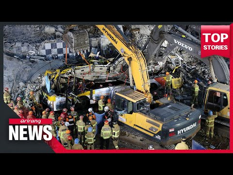 Nine people killed, around 20 more injured in Gwangju after building collapses on bus