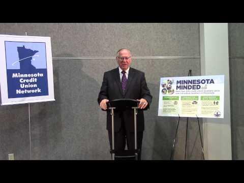 Senator David H. Senjem (R - Dist. 25) Touts Growth of Credit Unions