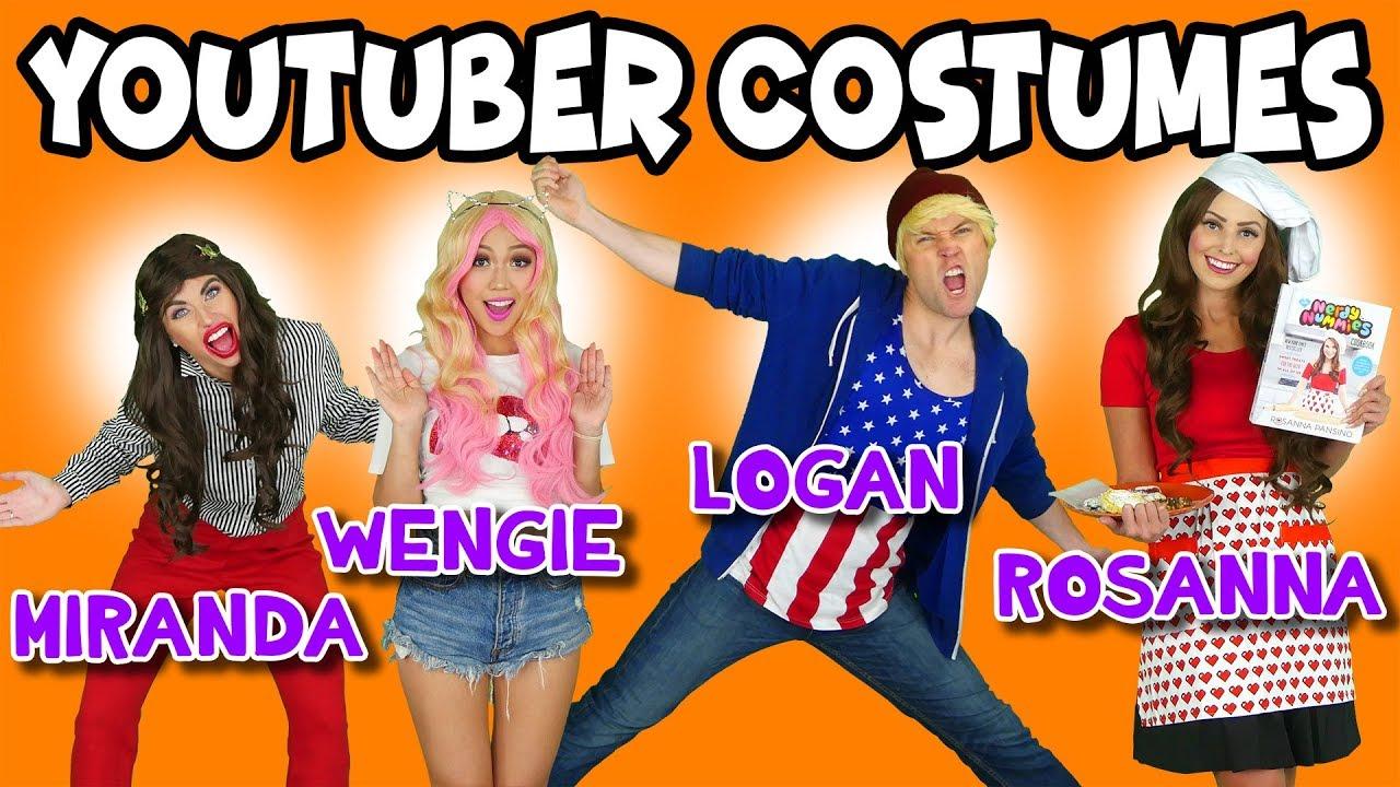DIY Youtuber Costumes for Halloween JoJo Siwa, Wengie, Logan Paul and  More. Totally TV