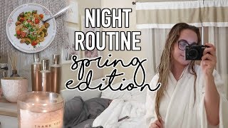 Night Routine for Spring 2019