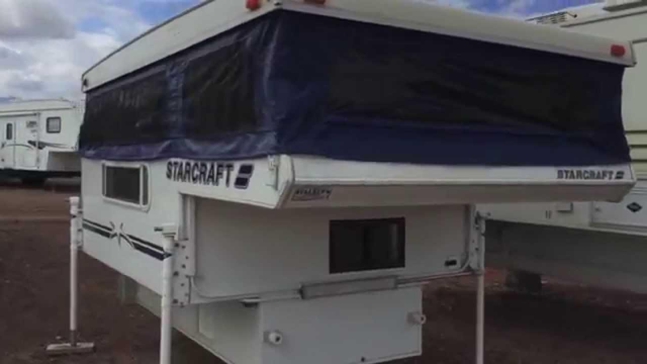 Dalton S Rv 2003 Starcraft 8 Truck Camper Youtube