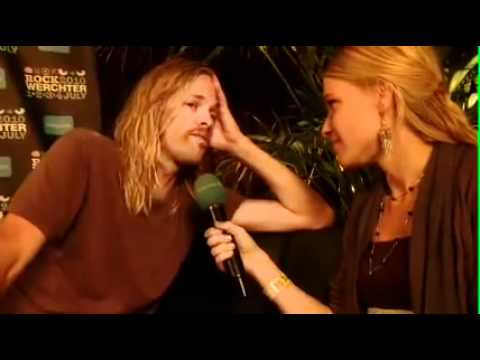 Taylor Hawkins interview Rock Werchter 2010 Belgium
