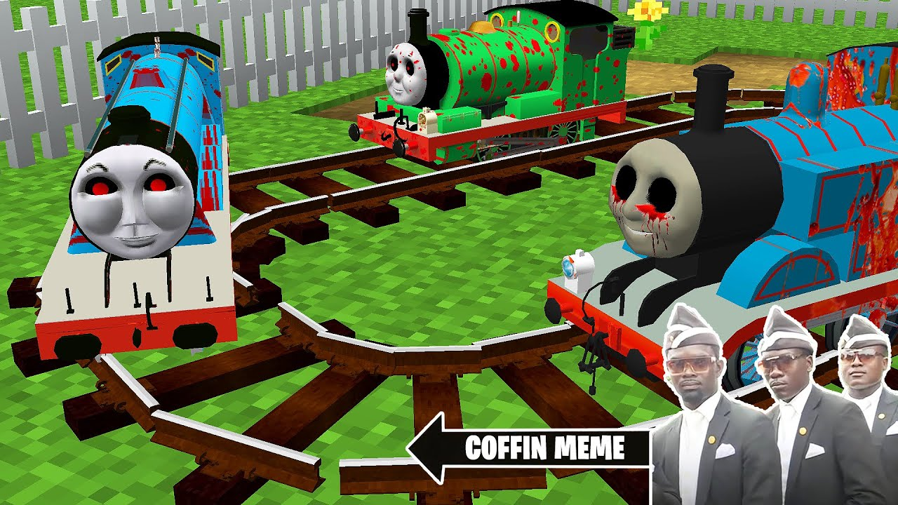 Download Return of Smallest THOMAS THE TANK ENGINE.EXE and FRIENDS in Minecraft - Coffin Meme Gordon & Percy