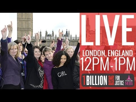 One Billion Rising For Justice Live: London