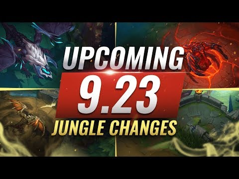 MASSIVE CHANGES: New JUNGLE + LANE CHANGES Coming in Patch 923 - League of Legends