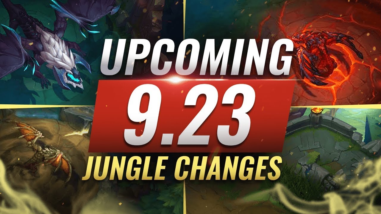 MASSIVE CHANGES: New JUNGLE + LANE CHANGES Coming in Patch 9.23 - League of Legends thumbnail