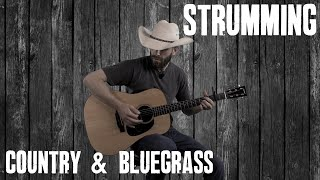 Country Strumming Pattern - Guitar Lesson Tutorial