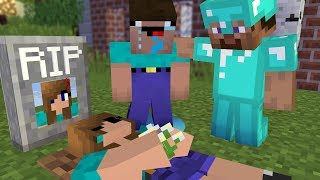 Minecraft NOOB Girl vs NOOB Boy| NOOB Girl RIP | Noob love Noob girl ( 8 ) - Minecraft Animation