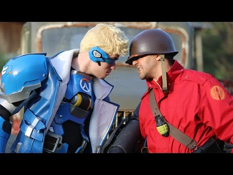 Team Fortress 2: Overwatch Takeover (Live Action)