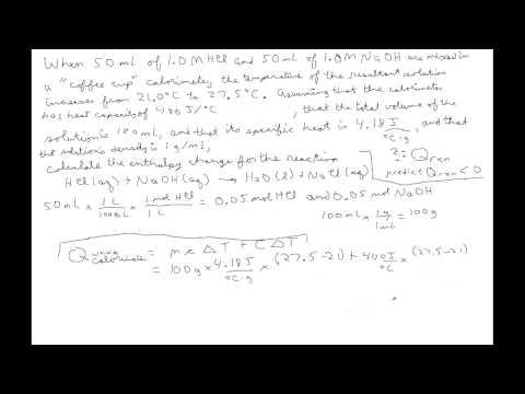 Calorimetry (2)