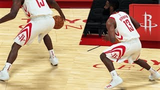 NBA 2K19 Tutorial - JAMES HARDEN Double Step Back | Signature Moves