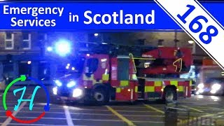 Night Time Responses in Edinburgh - Lights & Sirens  - Ep.168 - Emergency Services in Scotland