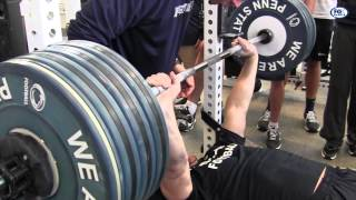 Penn State Bench Press Workout