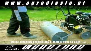 Glebogryzarka Musstang 10 walec ogrodowy