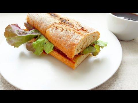 Бутерброд. Бутерброд французский по деревенски. Рецепт бутербродов.