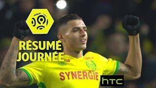 Résumé de la 25ème journée - Ligue 1 / 2016-17