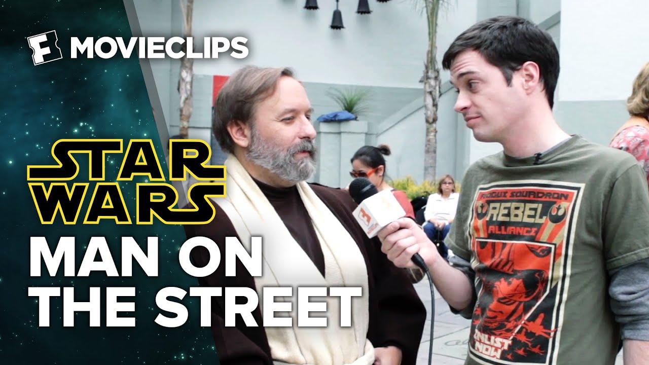 Star Wars VS Real World - Man On The Street (2015) HD