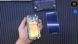 Como trocar a tela do Moto G2 XT1068 e XT1069, Tutorial Frontal (touch e display)