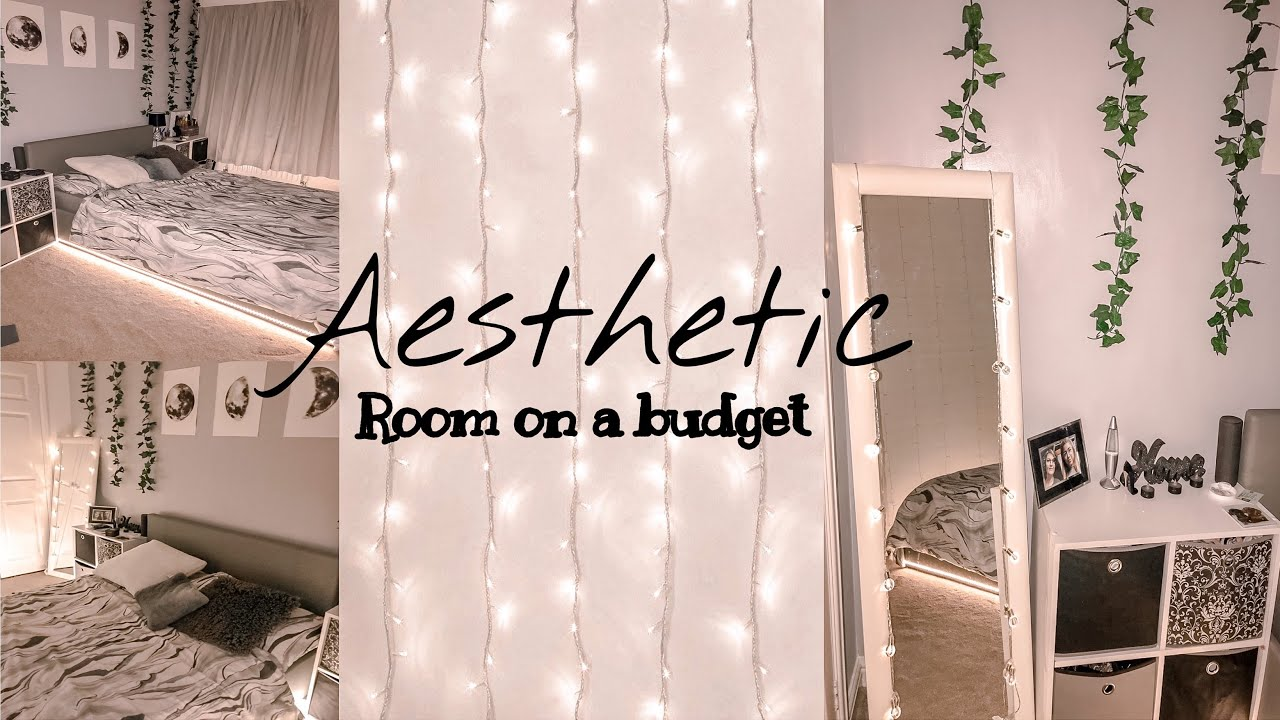 HOW TO DECORATE A ROOM ON A BUDGET AESTHETIC ROOM DECOR IDEAS