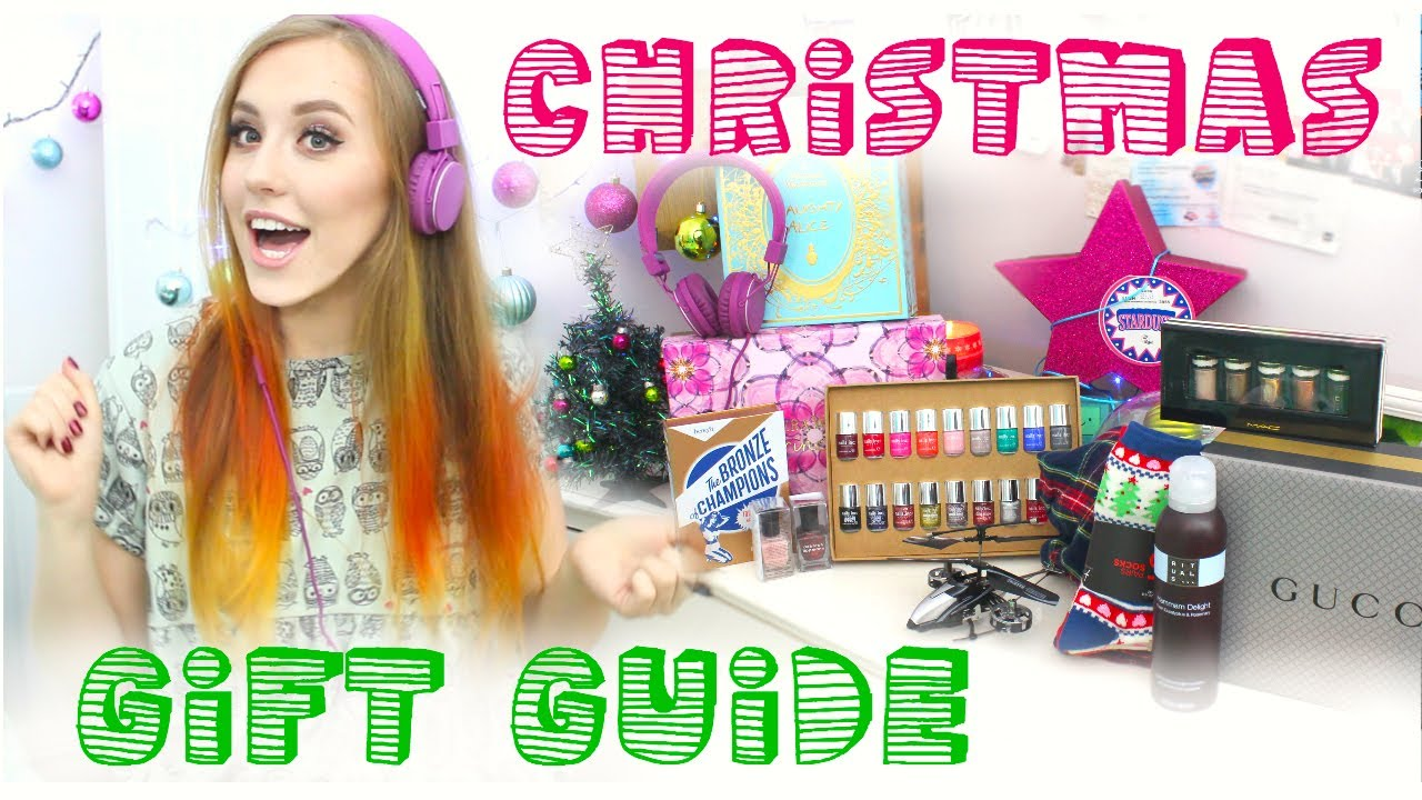 Christmas Gift Guide | Gifts for Girls & Guys - YouTube