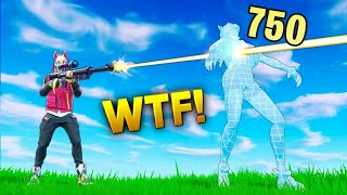 NEW* SNIPER BUFF?? 750 DMG Sniper Shot! - Fortnite Funny WTF Fails and Daily Best Moments Ep.934