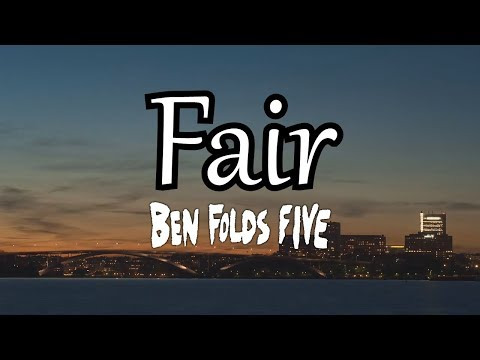 Fair (Subtitulos en español) - Ben Folds Five - Whatever and ever, Amen