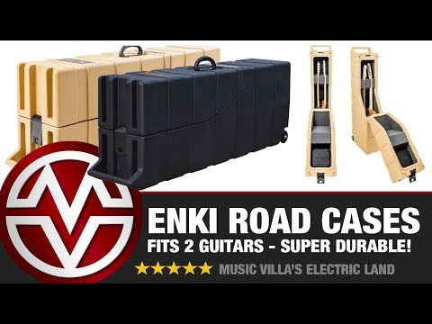 Enki Guitar Cases - Tough, Lightweight, and Weather Resistant!